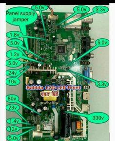 Dc Circuit, Circuit Diagram, Car Ecu, Electronic Circuit Design, Simple Electronics, Tv Led, Power Supply Circuit, Led Board, Electronic Schematics