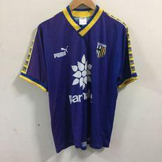 PARMA AC Calcio Football Jersey Shirt Maglia  parmalat Puma Size L Blue Jersey | eBay