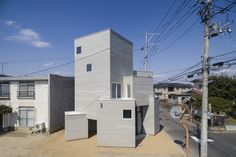 Completed in 2016 in Fukushima-shi, Japan. Images by Shinkenchiku-sha. The site is at Fukushima city in Fukushima prefecture. I had a plan to build my house on the site that my family owns. The site was a piece of bare...