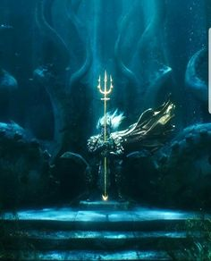 Drawing Dc Comics King Atlan with the lost Trident of Atlantis Aquaman Movie 2018, Aquaman Film, Nightwing, Batwoman, Dc Movies, Comic Movies, Atlantis, Marvel Dc, Jason Momoa Aquaman