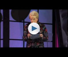 """With the timing of a professional comedian, this diminutive """"little old lady"""" shines a very funny light on the foibles of aging, to the delight of an audience filled with senior-care experts.  A friend of the couple who founded Home Instead Senior Care, Mary Maxwell was asked to give the invocation at the company's 2009..."""