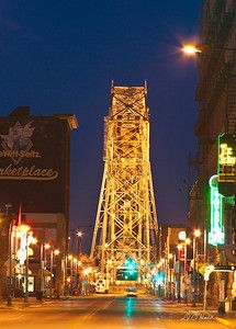 Aerial Lift Bridge, Duluth, MN     Been here! It is so neat!! :-)