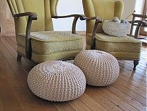 Úžitkový textil - Béžove duo - 3966842_