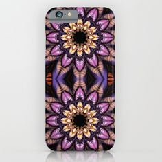 Artistic fantasy flower iPhone & iPod Case
