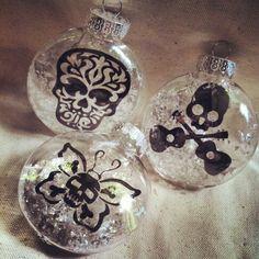 Skull Ornaments  www.facebook.com/skullsandstones