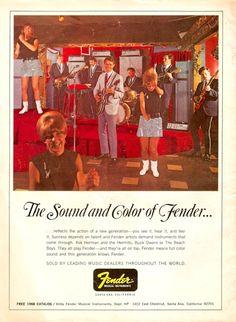 Vintage Fender advertisement