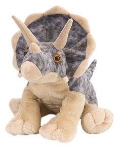 544fd970fd24 Wild Republic Triceratops Plush Dinosaur Stuffed Animal Toy Gifts For Kids  12