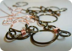 Copper Wire Findings :Humblebeads Blog: A Behind the Scenes Look at Designing