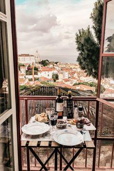 #airbnb #lissabon #lisbon #flat #interior #interiordesign #balkony #inspiration #travel #reise #visitportugal Flat Interior, Interior Design, Visit Portugal, Air B And B, Table Settings, House Design, Table Decorations, Inspiration, Travel