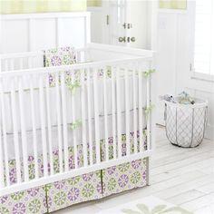 New Arrivals Crib Bedding Pedal Pusher Lavender