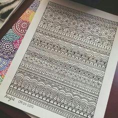 40 Simple Mandala Art Pattern And Designs - Free Jupiter Mandala Doodle, Mandala Art Lesson, Mandala Artwork, Mandala Drawing, Doodle Patterns, Zentangle Patterns, Mandala Pattern, Pattern Art, Madhubani Art