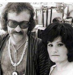 Cem Karaca - Selda Bağcan / 1970 Old Pictures, Fashion Boots, Nostalgia, Singer, Portrait, Chain, Celebrities, Outfit, Music