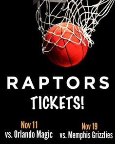 $15 and Up for a Ticket to the Toronto Raptors vs. Orlando Magic OR Memphis Grizzlies in November at the ACC Memphis Grizzlies, Orlando Magic, Toronto Raptors, Ticket, November, Sports, Sport
