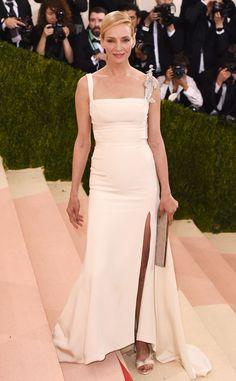 Uma Thurman from Met Gala 2016: Red Carpet Arrivals