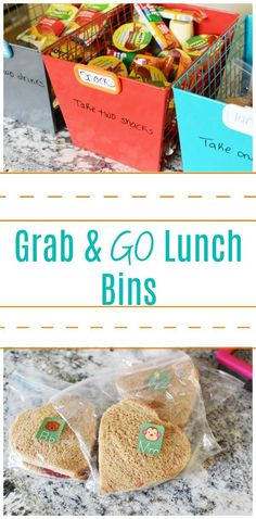 Kids School Lunch Ideas 42995371431217020 - Grab & Go Lunch Bins- An easy food organization system that will make back to school lunches easier on moms & dads. Kids will gain independence & waste less. AD Source by sizzlingeats Back To School Breakfast, Back To School Lunch Ideas, Healthy School Lunches, Lunch To Go, School Meal, School Tips, School Snacks, School Lunch Organization, Recipe Organization