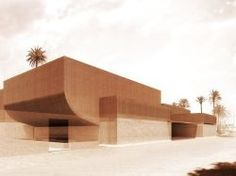 Studio KO construira le musée Yves Saint-Laurent de Marrakech