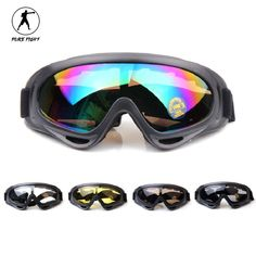 Winter Outdoor Skiing Goggles Snowboard UV Protection Soft Paintball  Protective Glasses Eyewear Motorcycle Riding Sports Goggles 7000506ff56f