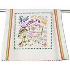 North Carolina Dish Towel and Maryland and Virginia too!