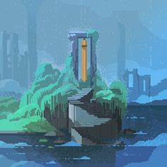 Pixel Art Gif, Pixel Art Games, Piskel Art, Pix Art, Pixel Art Background, Arte Indie, 8 Bit Art, Drawn Art, Pixel Animation