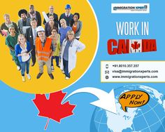 Find out what it's like to work in Canada, including information about the Canadian job market, vacancies, language requirements, and visas and immigration.