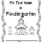 This little packet is a great first week of school activity for your kindergarten students to complete, a little bit at a time.  The activities can...