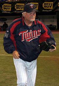 Ron Gardenhire - from the town where I grew up in Eastern Oklahoma - Okmulgee. Manager for the Minnesota Twins