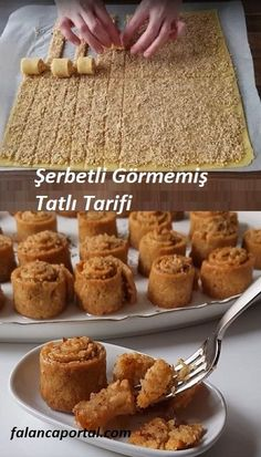 Şerbetli Görmemişin Tatlı Tarifi – Tatlı tarifleri – Las recetas más prácticas y fáciles Easy Desserts, Delicious Desserts, Yummy Food, Tasty, Cake Recipe Using Buttermilk, Fingers Food, Cookie Recipes, Dessert Recipes, Turkish Recipes