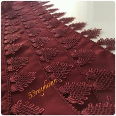 This Pin was discovered by Şeh Needle Lace, Lace Making, Hello Kitty, Crafty, Crochet, How To Make, Knitting, Decoration, Needlepoint