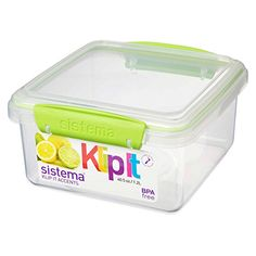 Sistema Klip It Accents Collection Food Storage Container. Food Storage Containers, Crafts, Lunch Boxes, Bento, Collection, Manualidades, Handmade Crafts, Diy Crafts, Craft