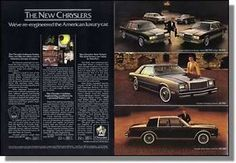 The New Chryslers for 1980