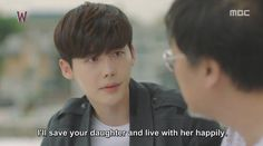 W Two Worlds - Chuls promise. Make it true, please! #kdrama #onigirilove #w