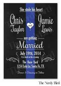 thin blue line wedding ideas - Bing Images