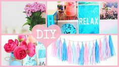 DIY Easy and Inexpensive Summer Room Decor 2015. Tumblr Inspired | Annie Elizabeth