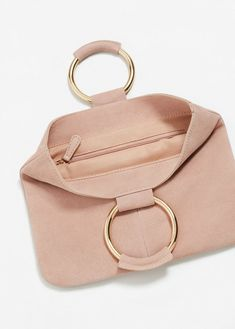 Mujeres bolso de lazo Cubo cartera en forma de fruta pequeña bolsa billetera portatarjetas 6A