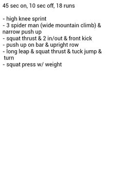 16 mn exercise
