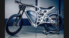 Light Rider, a primeira mota criada por uma impressora 3D