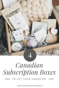 Imagine if you could open your front door and be treated to new, trendy, and fun items you didn't know you needed, every month - without ever hitting up a mall! You guessed it - subscription boxes. Canadian Holidays, Canadian Gifts, Canadian Things, Best Monthly Subscription Boxes, Beauty Box Subscriptions, Chefs, Shop Local, Mall, Clay Animals