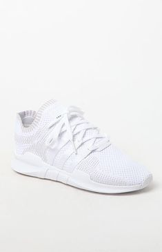 brand new c8dc6 8c4b4 adidas EQT Support Adv Primeknit White Shoes at PacSun.com