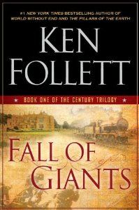 Fall of Giants - wonderful novel written with historical precision, some suspense.