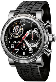 Graham Tourbillograph Trackmaster Mens Watch Model: 2TWTS.B05A
