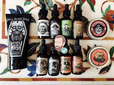 Let's start by saying that Grave Before Shave products are... by far... the BEST beard oils and beard balms I have ever tried and I have tried hundreds.
