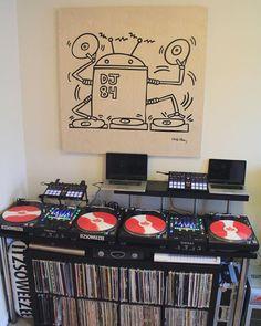 @thuglimusic's practice setup  #RP by djcity http://ift.tt/1HNGVsC