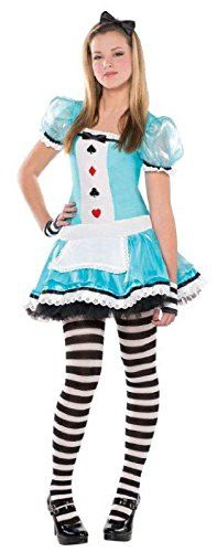 Juniors Clever Alice Costume Size Small (3-5) Amscan https://www.amazon.com/dp/B00VTNXV3K/ref=cm_sw_r_pi_dp_ujxJxbN67H9ZX
