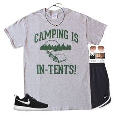 Live Nice - Camping is in Tents - Funny Intense - Mens Cotton T-Shirt, S, Sport Funny Shirts, Tee Shirts, Mens Cotton T Shirts, Camping Outfits, Camping Gear, Camping Clothing, Sport Clothing, Tee Shirt Designs, Branded T Shirts