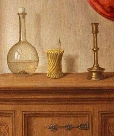 L'Annonciation de Hans Memling ca 1480 (au MET)