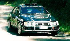 Rallie de Pravia - Ford Sierra Cosworth 4x4 - Daniel Alonso & Salvador Belzunce