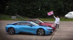 BMW i8 contra BMW M4, enfrentados en una curiosa 'drag race' (con vídeo) - http://www.actualidadmotor.com/bmw-i8-contra-bmw-m4-drag-race/