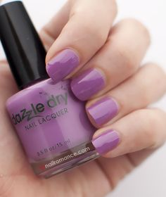 Dazzle Dry Polish – Vive Le Violet