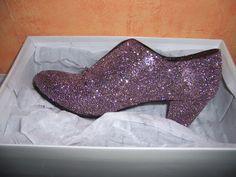 Brokatowe buty #glittershoes DIY