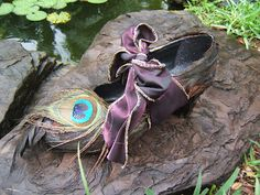 Fairy Cottage and Garden..... Re- Enchanted Life of a Domestic Mystic: * Fairy Shoe Challenge !